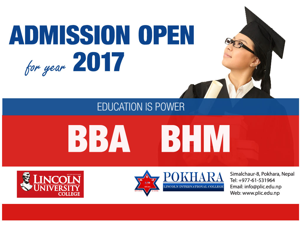 PLIC Admission Open for November, 2017 Intake